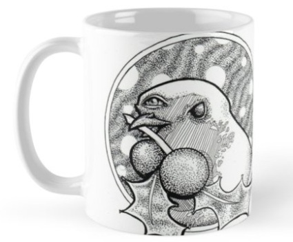 Third-Eye Robin Mug