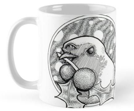 Third-Eye Robin Mug