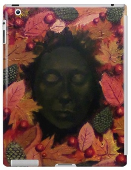 Queen of Autumn Tablet Case