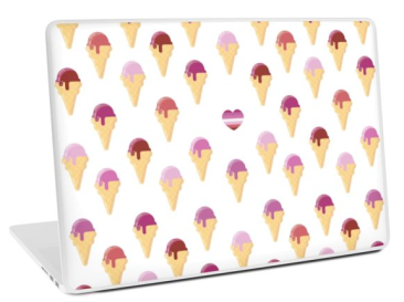 Sapphic Summer laptop cover