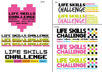 Branding ideas for SNC Life Skills Project