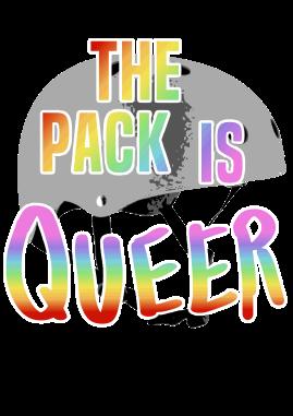 LGBTQ Roller Derby print design