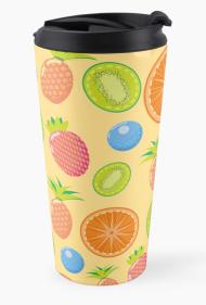 Summer Fruits travel mug
